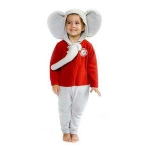 University of Alabama Big Al Mascot Wear Kids RARE